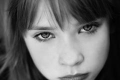 Child modeling photos