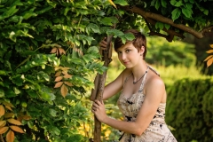 Garden-Senior-Portrait-Photography