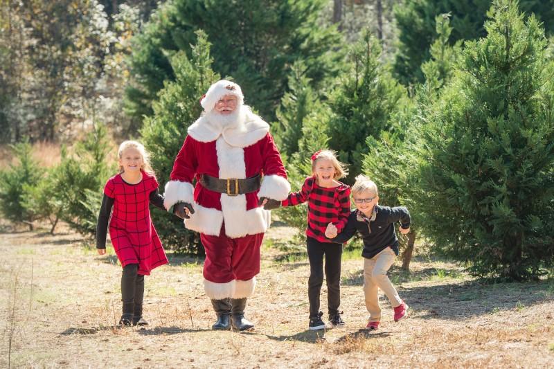 Santa-Playing
