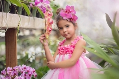 child-in-pink-at-orchid-farm-photography