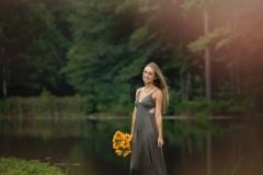Senior-Portraits-Pond