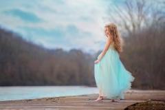sea-foam-dress-child-model-photography