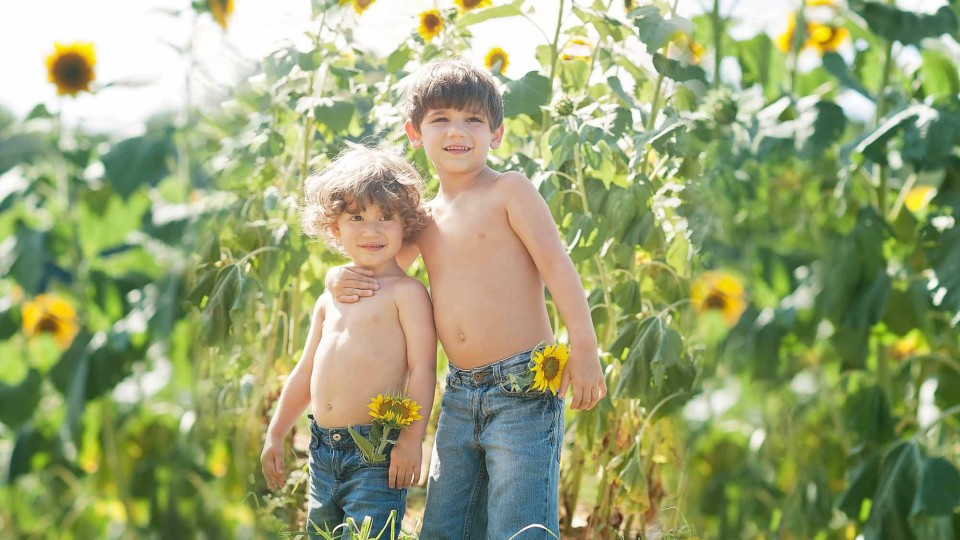 boys-sunflowers-alpharetta-photographer
