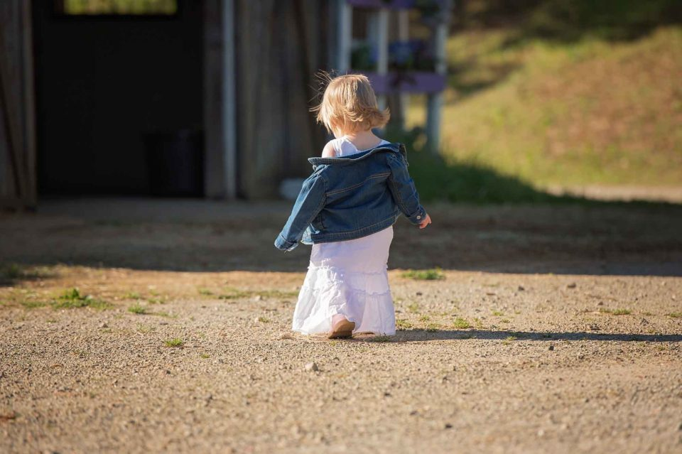 Little-Girl-Walking-Away-Image