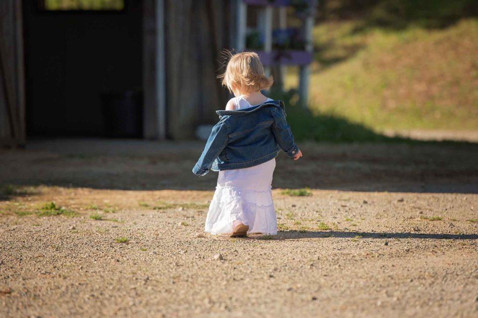 Little-Girl-Walking-Away-Image