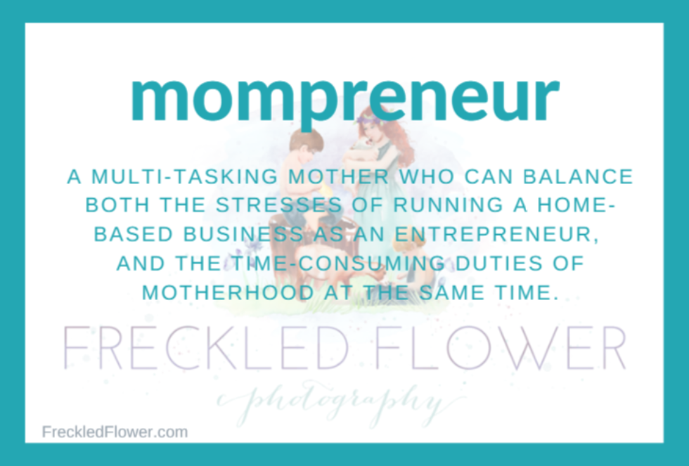 The Pros & Cons of Being a Mompreneur – Confessions from a Roswell Family Photographer