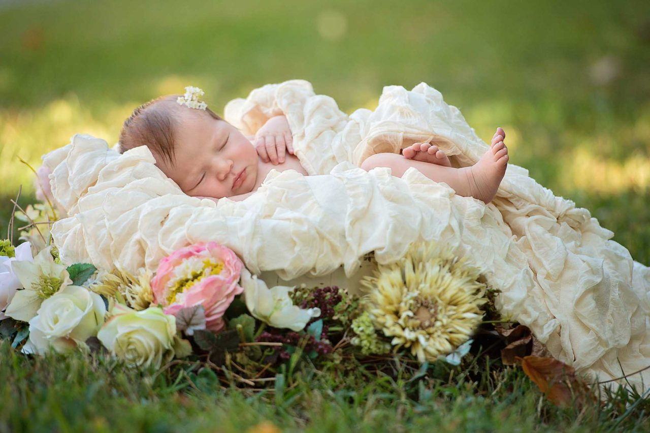 newborn-photography-with-flowers-sneak-peek