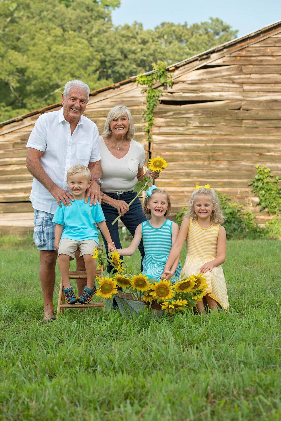 Multi-Generation Family Photography – North Atlanta Photographer