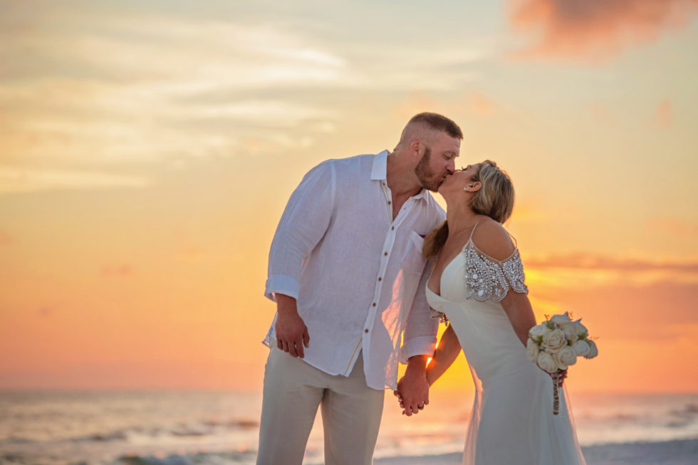 Blazing Sunset Beach Wedding – Wedding Photography