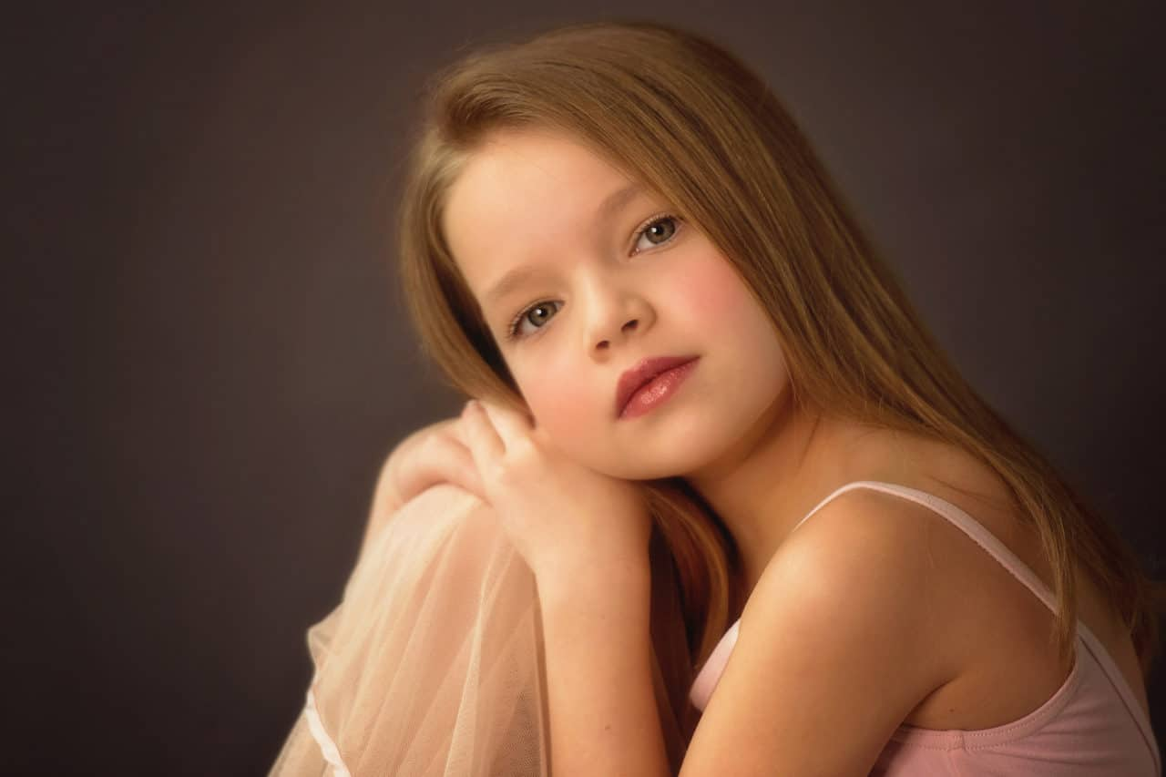 studio photography, child model portfolio