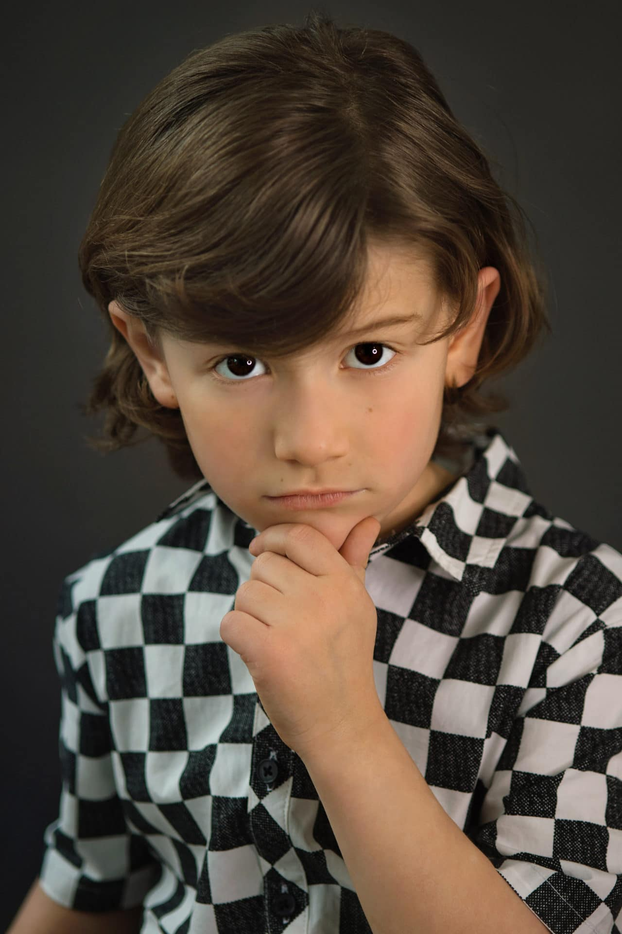 child acting headshots, roswell portrait studio